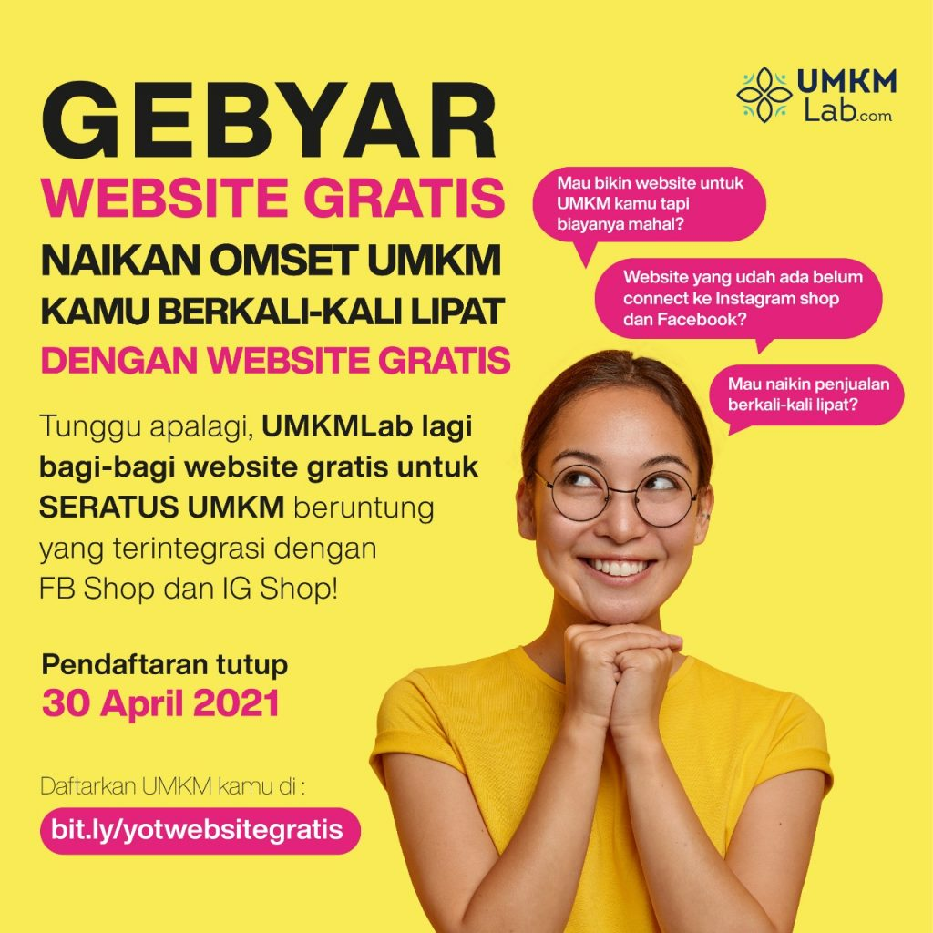 umkmlab gebyar website gratis
