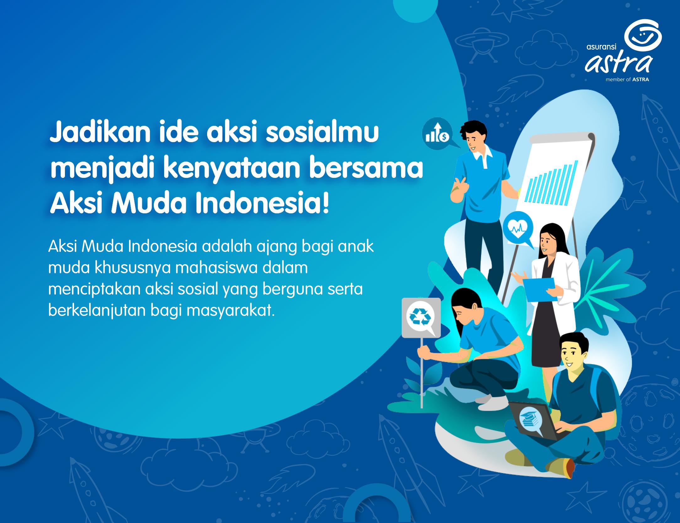 banner astra aksi muda indonesia